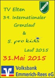 39. Internationaler Grenzlauf & 5. pro Kids Lauf